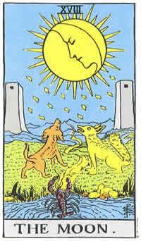 Księżyc karta tarota