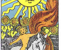 Słońce karta tarota
